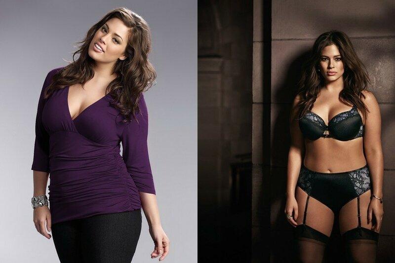 Неземная красота: самые известные полные девушки модели мира
