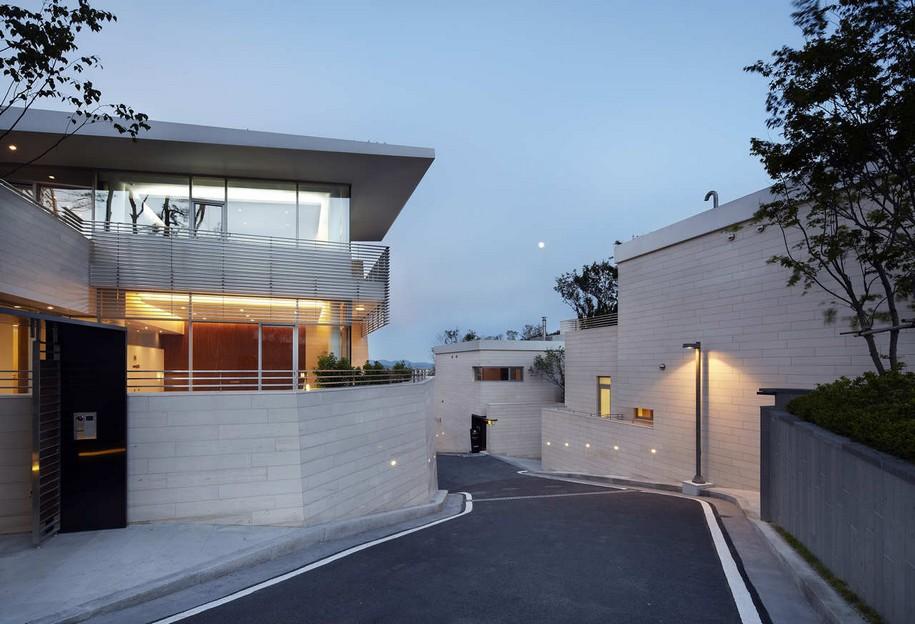 Комплекс из 12 домов в Южной Корее