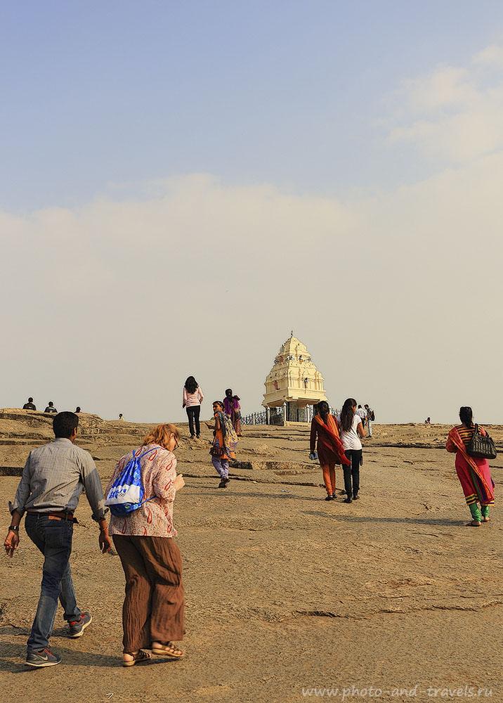 Фотография 10. Подъем на смотровую площадку для осмотра панорамы города Бангалор. Отдых в Индии