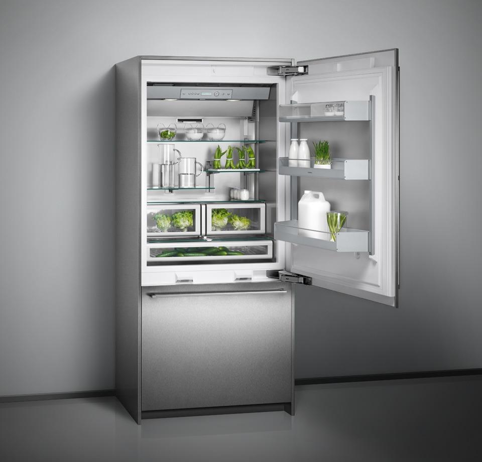 Холодильник с нижней морозилкой Gaggenau Германия