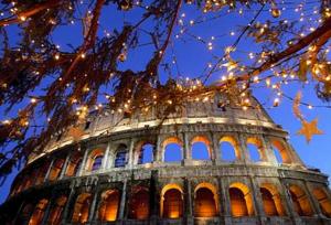 Что может быть лучше, чем отпраздновать этот Новый год в Риме.