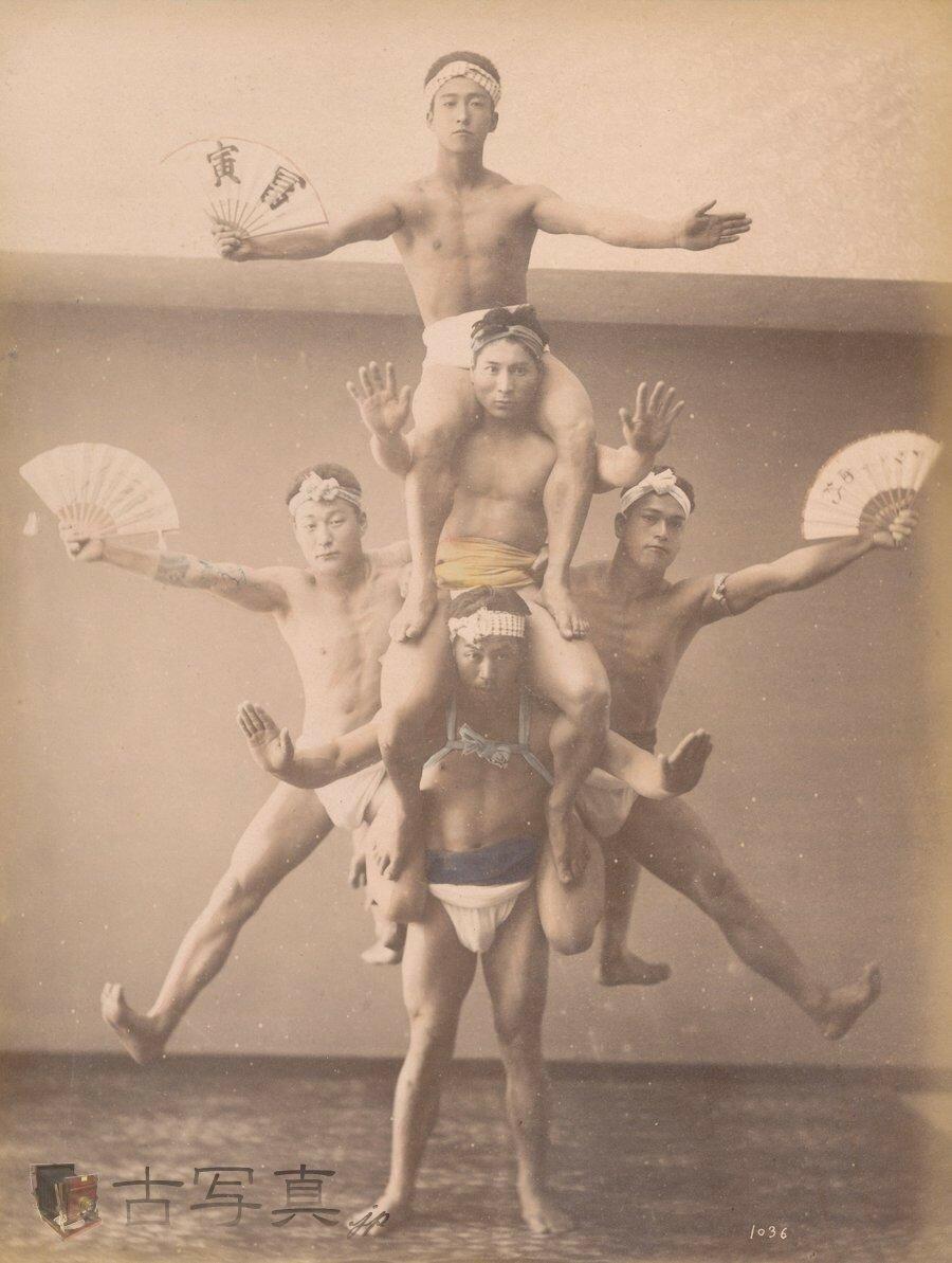 Акробаты. 1877