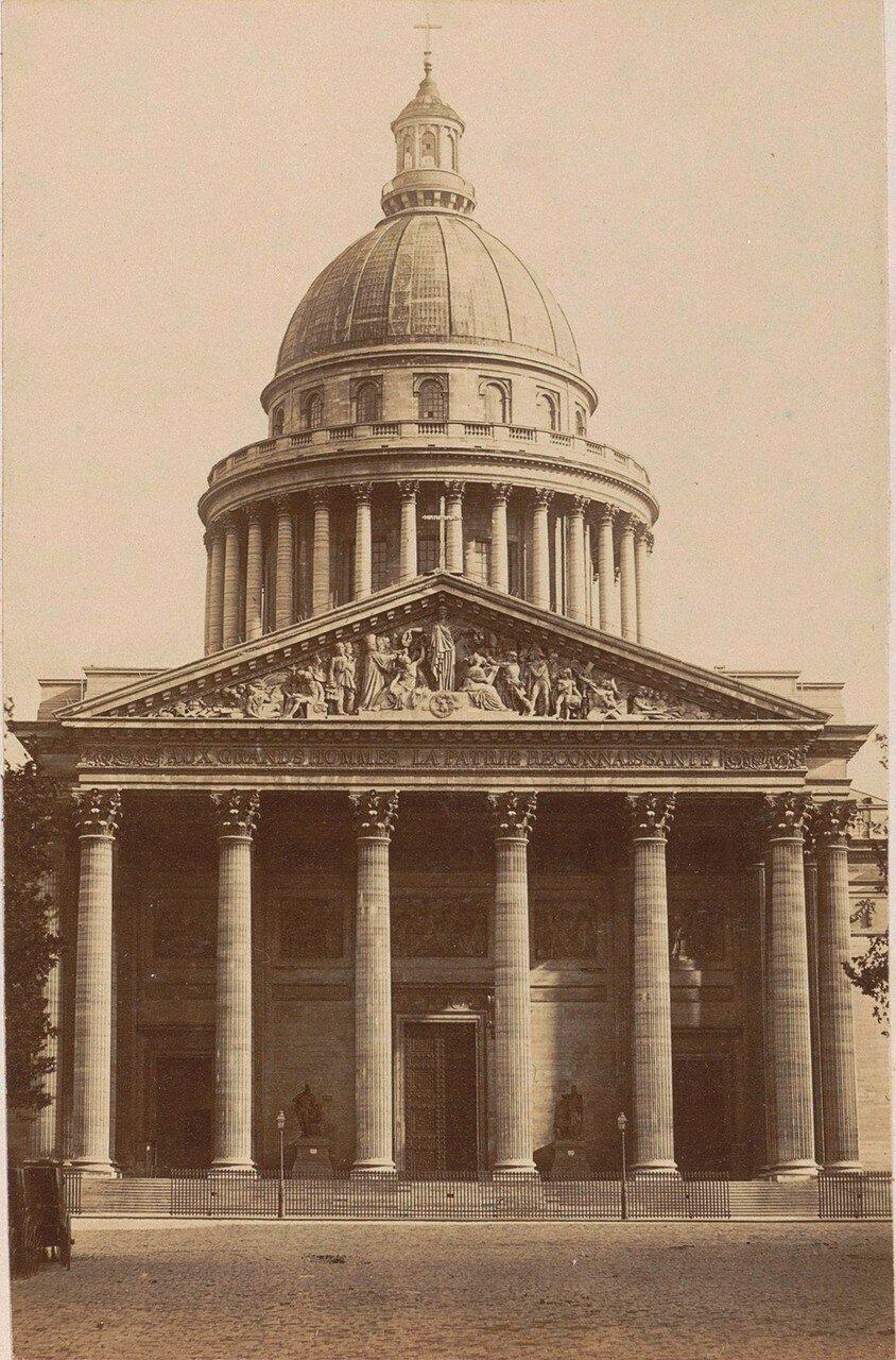 1878. Фасад Пантеона