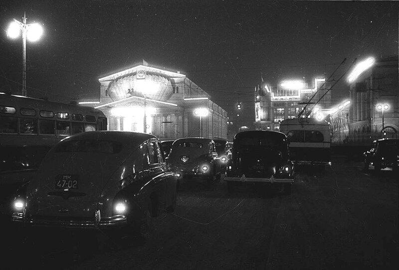 Празднование 32-летия Октября. 1949.
