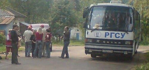 автобус подан