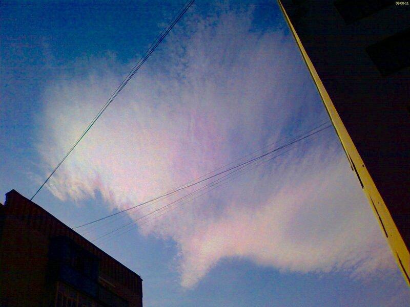 Снова радужные облака