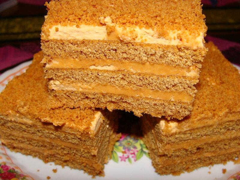 Рецепт приготовления медового торта фото