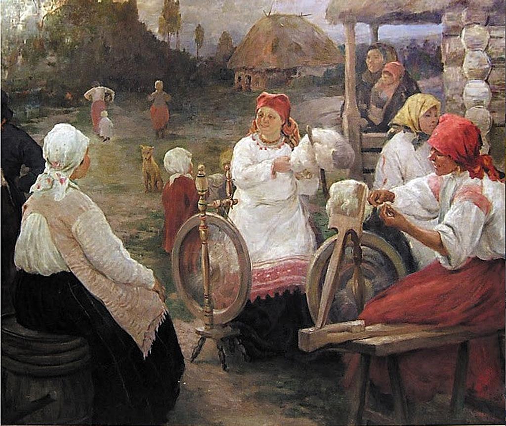 Пряхи, Александр Алексеевич Бучкури ( 1870 – 1942)