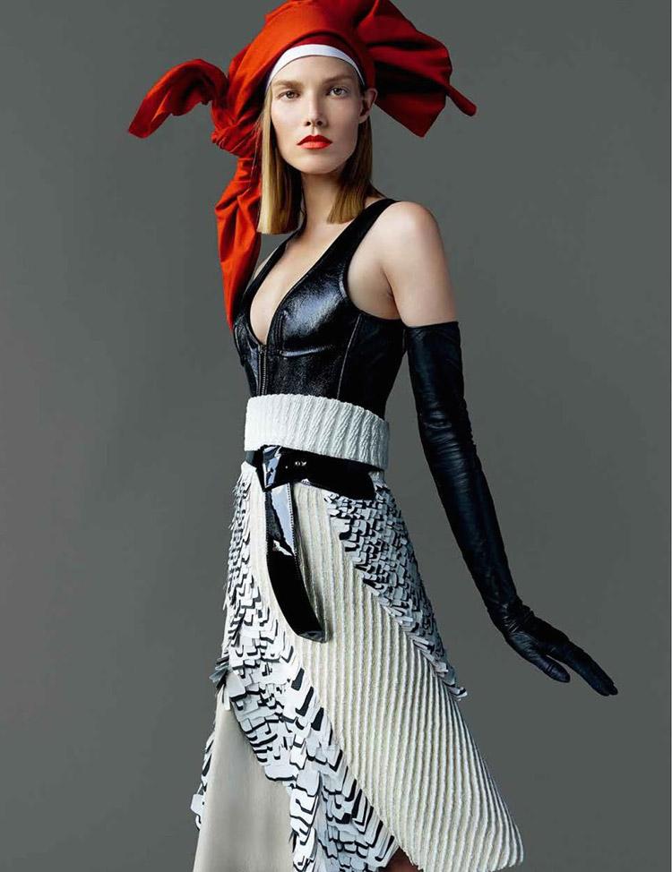 Суви Копонен (Suvi Koponen) в журнале Vogue Japan (7 фото)