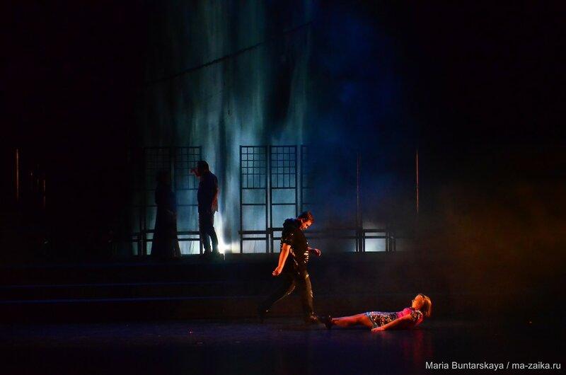 'Любовь и смерть в Вероне', Саратов, ТЮЗ им.Киселева, 14 сентября 2015 года