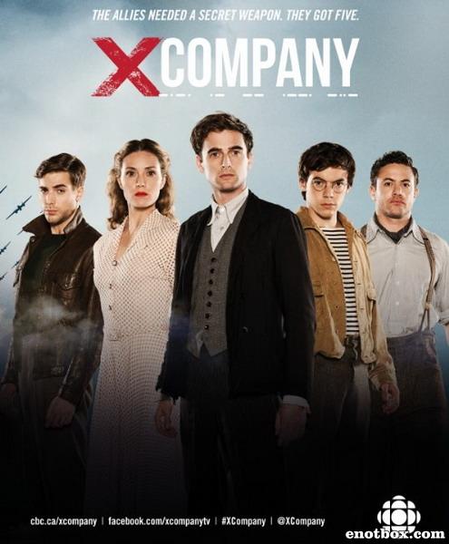 Лагерь X (1 сезон: 1-8 серии из 8) / X Company / 2015 / ЛД (kiitos) / WEB-DLRip + WEB-DL (720p)
