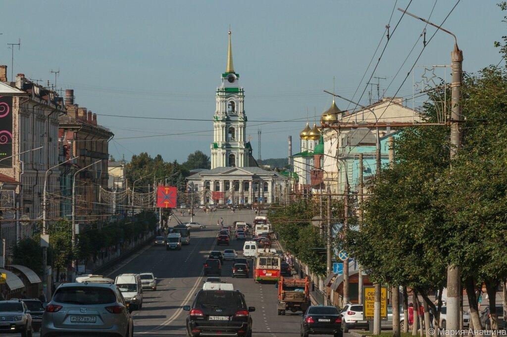 Панорама Тульского кремля с