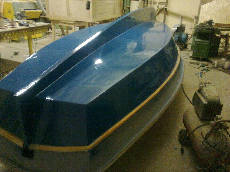 Эпоксидную лодку своими руками 1024