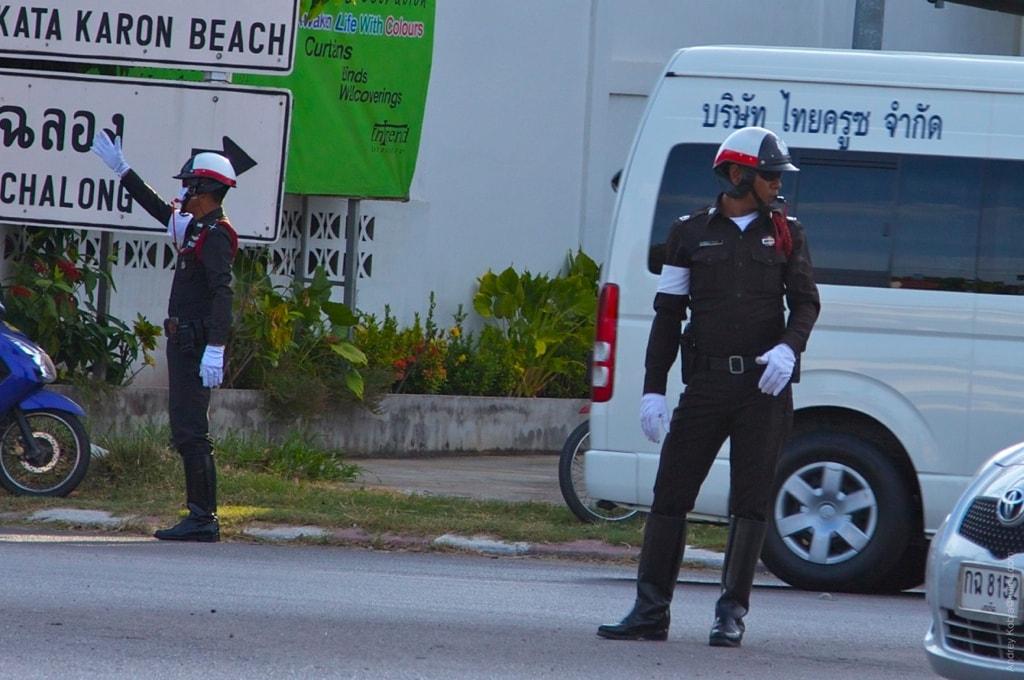 Полиция на Пхукете