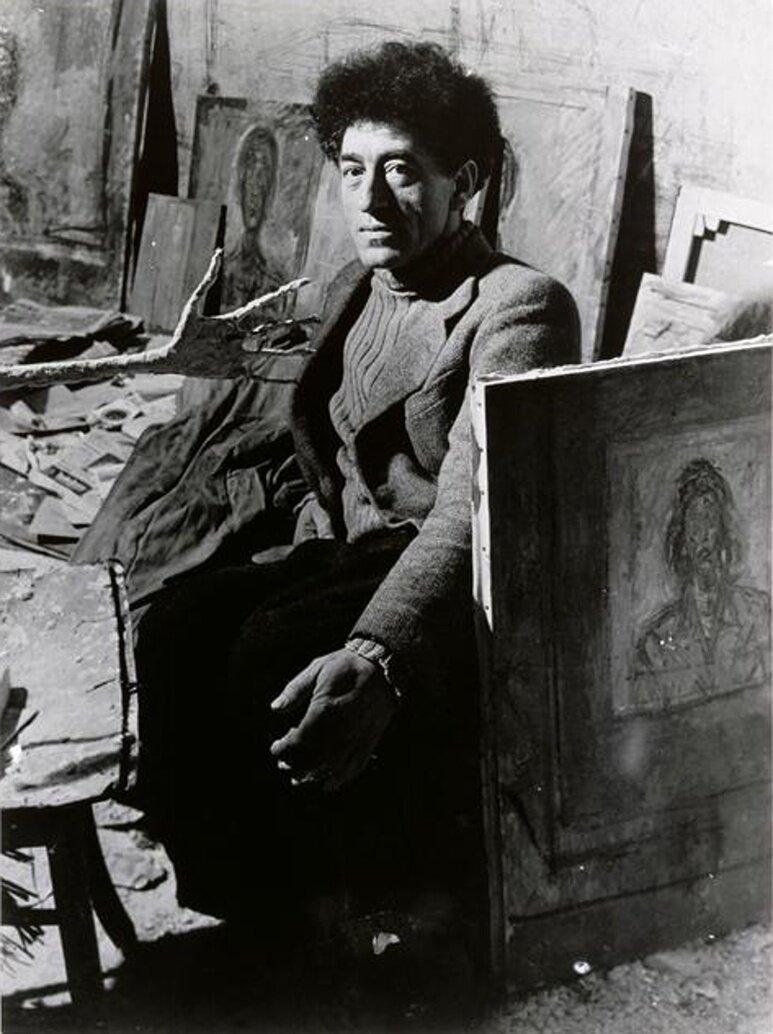 1948. Альберто Джакометти