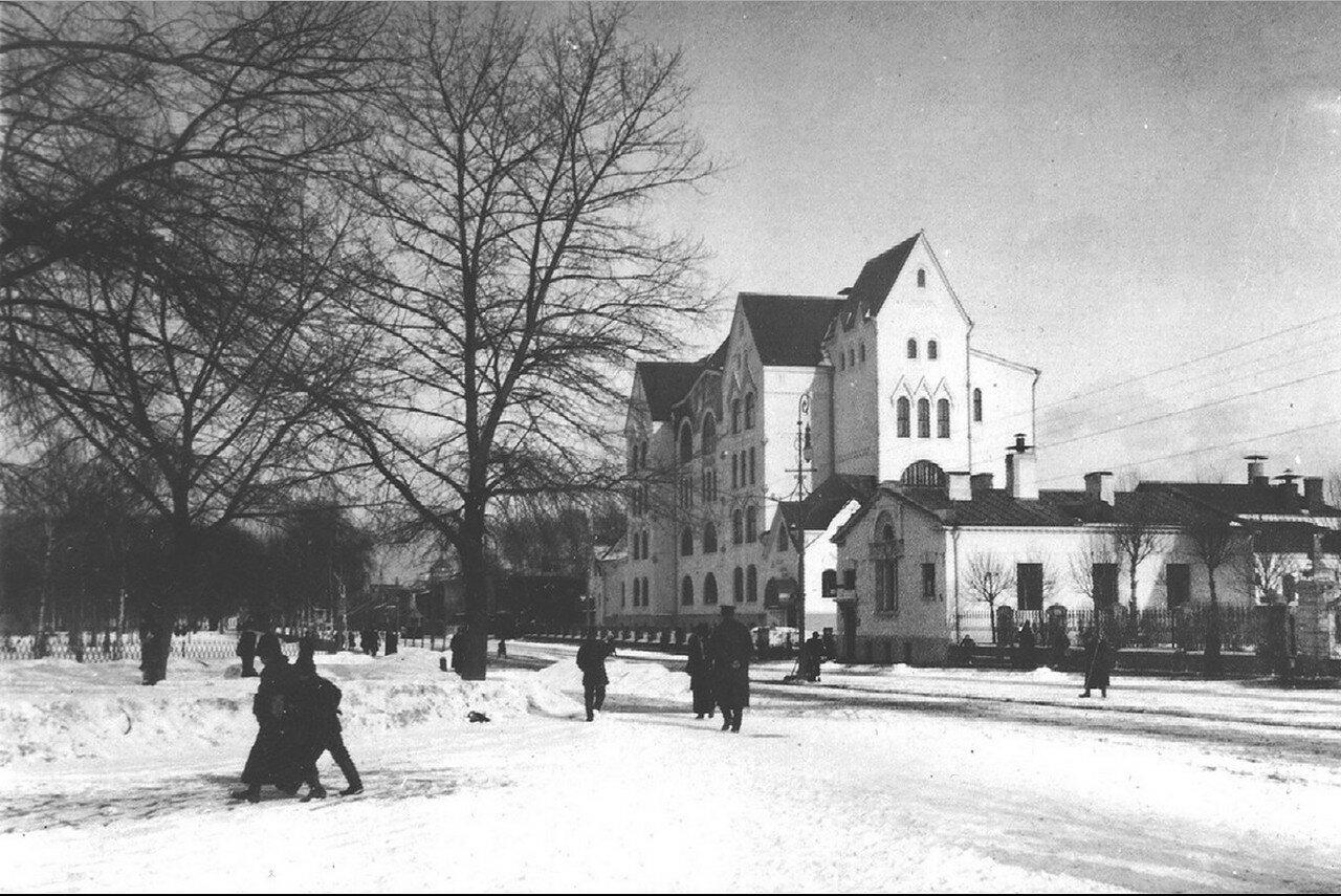 519. Зима в старой Москве