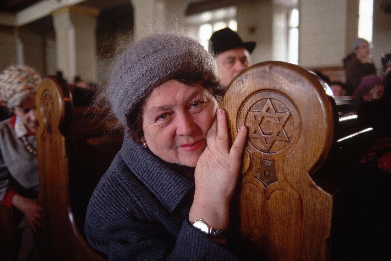 1990. Москва. Синагога