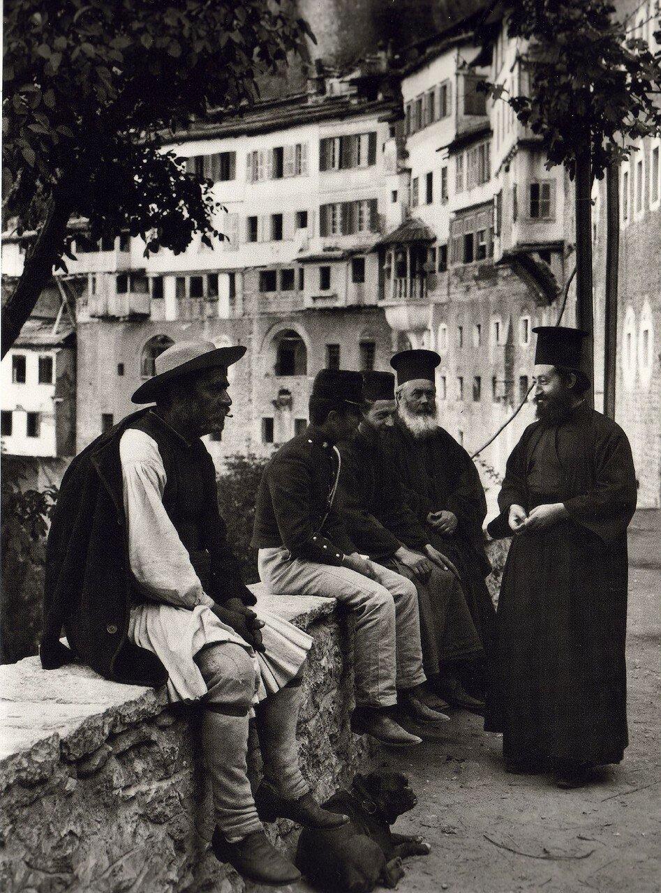 1903. Монастырь Мега Спилеон (Великая пещера)