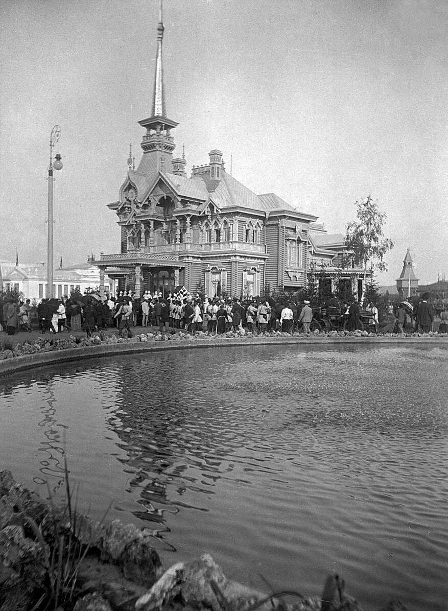 Здание Царского павильона. Нижегородская (Макарьевская) ярмарка 1893