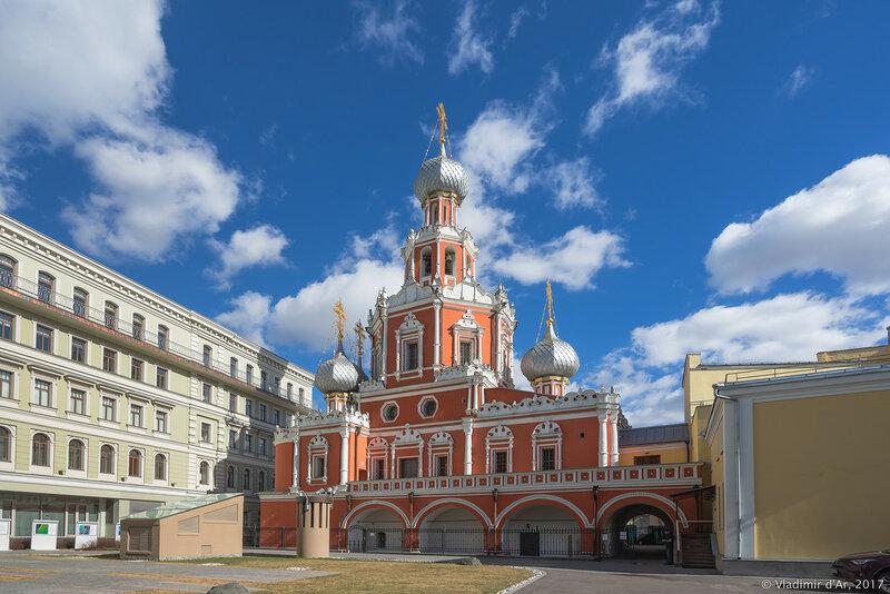 Церковь Знамения на Шереметьевом (Нарышкином) дворе