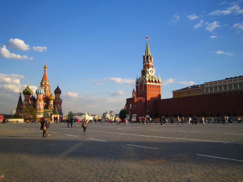 Красная Площадь, Покровский собор, Спасская башня, Сенат