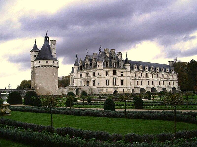 Вид на замок Шенонсо