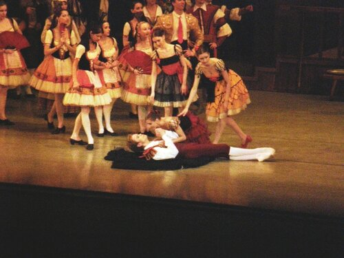 "Балет ""Дон Кихот"". Самоубийство Базиля. Леонид Сарафанов."