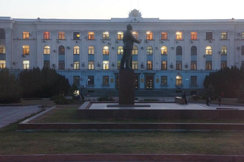 Симферополь - памятник Ленину