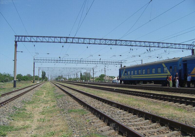 станция Новоалексеевка, вид на СВ