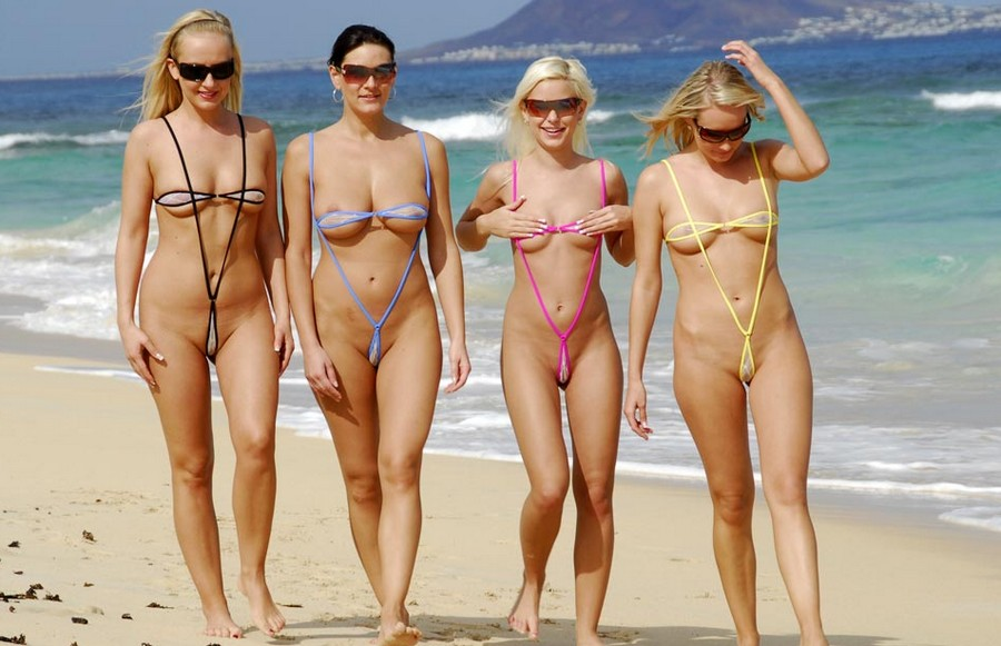 эротическое микро бикини фото девушек