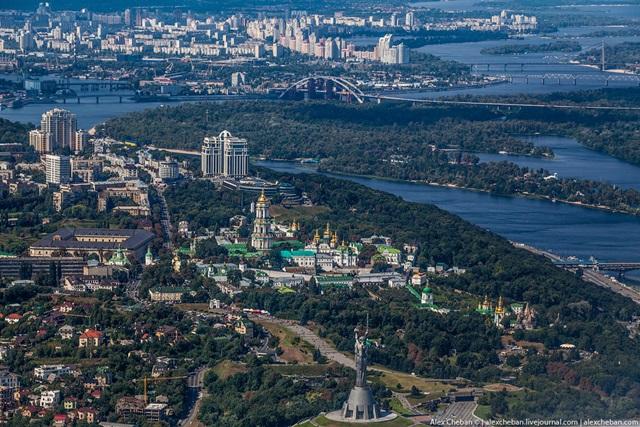 Красивые фотографии Киева с высоты птичьего полета 0 12d0eb d487194a orig