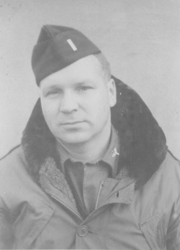 Lt W. H. Krueger, USAAF, Dec 1945