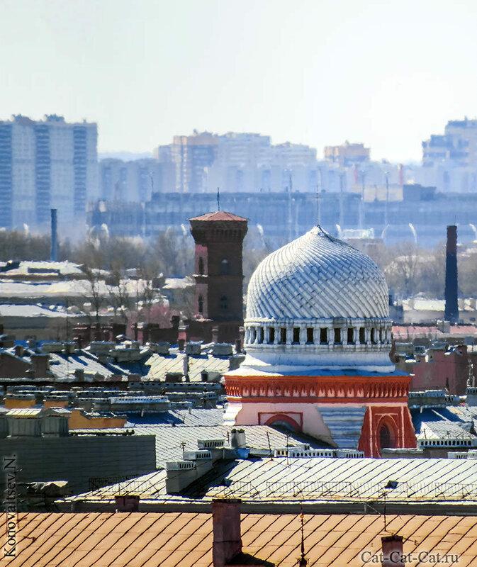 Купол Большой Хоральнаой Синагоги