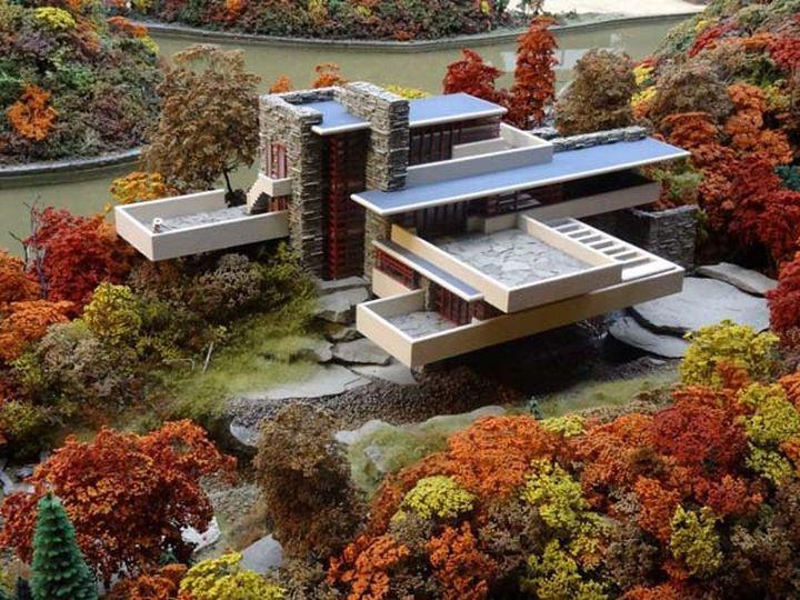Архитектор разработал этот дом специально для своих клиентов, семьи Кауфманн. Дом на реке Дрина (Сер
