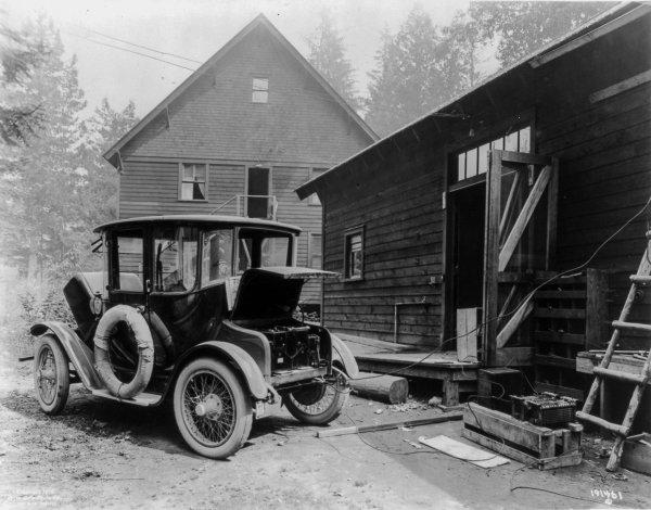 Электрические автомобили 100 лет назад