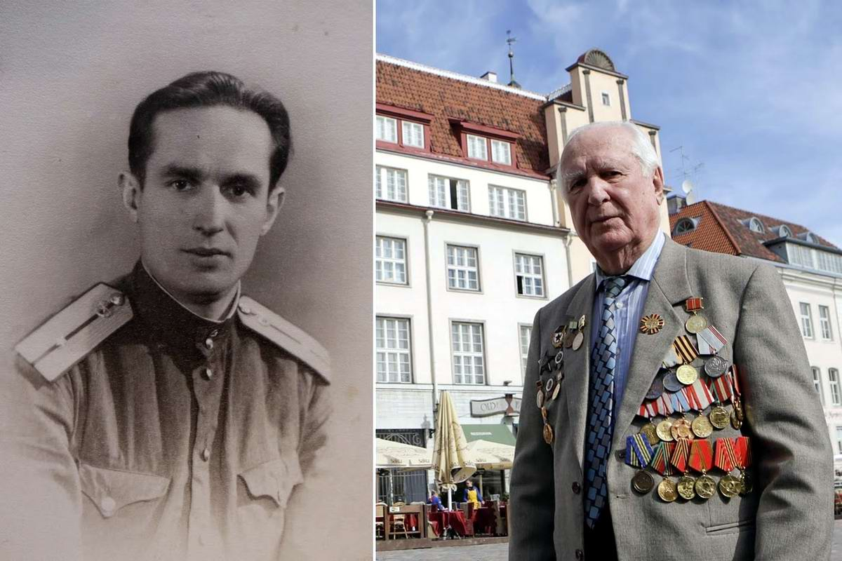 15 героев Великой Отечественной Войны из 15 республик Советского Союза - Карл Раммус, уроженец Эстонии, 92 года
