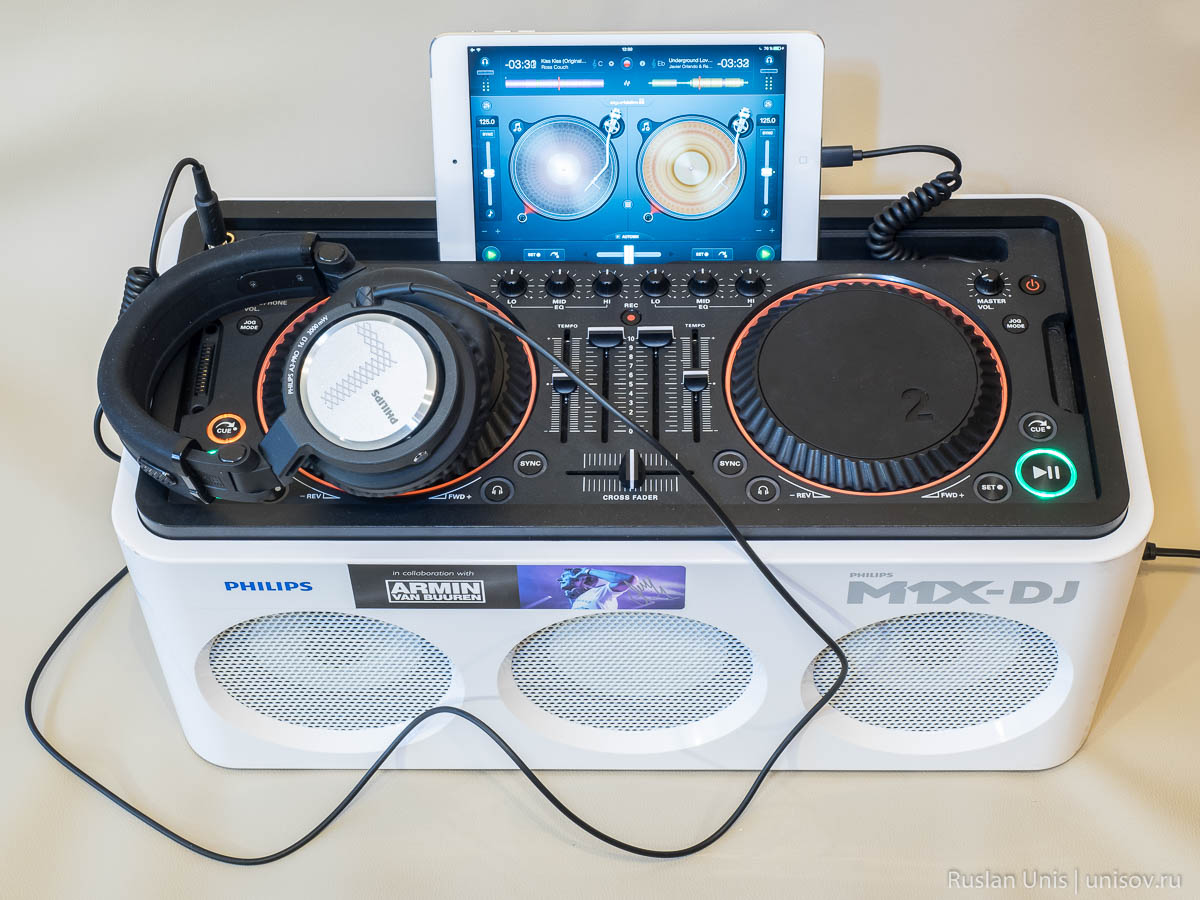 Обзор Philips M1X-DJ