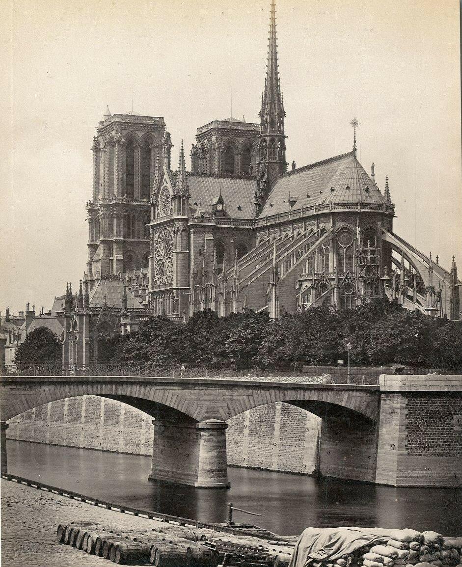 1880-е. Нотр-Дам