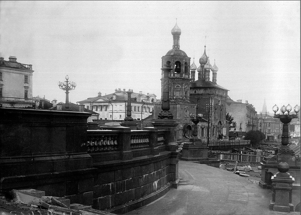 1930-е. Церковь Похвалы Пресвятой Богородицы на Волхонке