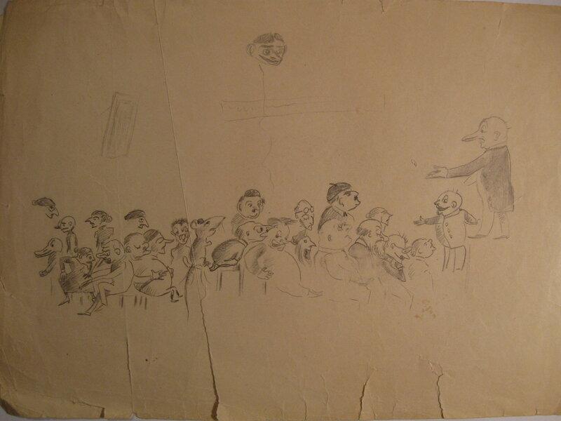 Рисунки о. Александра Меня