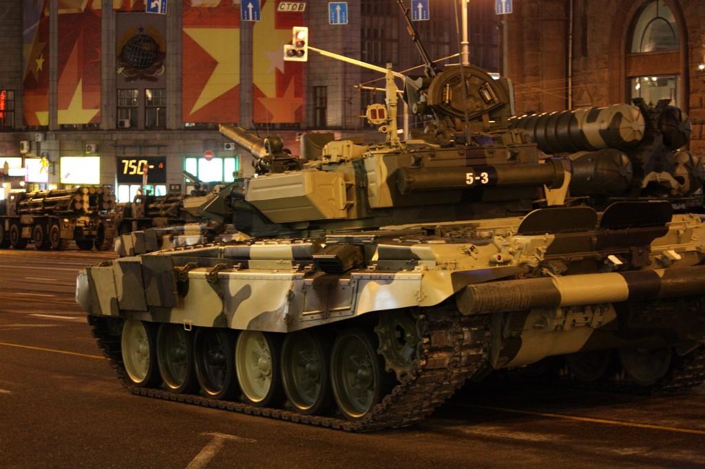 Т-90 — современный российский основной боевой танк