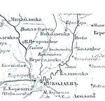 Kherson uyezd, Херсонский уезд, 1852