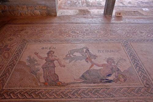 Мозаики Дома Диониса