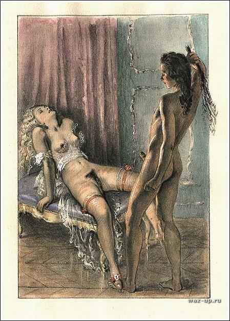 Ретро-эротика от Paul-Emile Becat.
