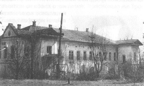 Борщёвка, главный дом в 1993 г.