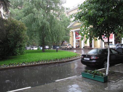 Жара и дождь