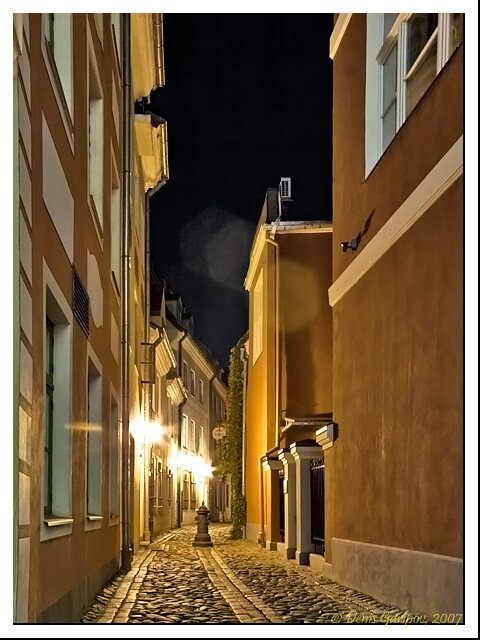 Улочки Старого города ночью