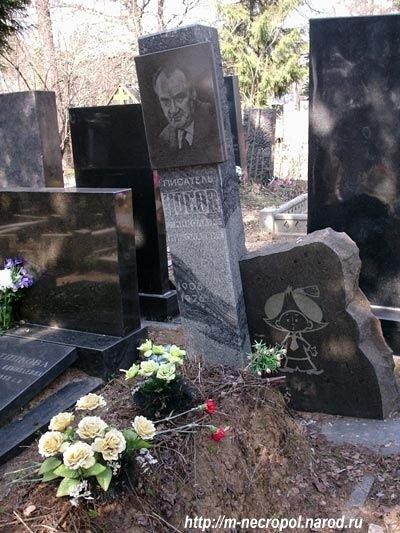 Могила Николая Носова.