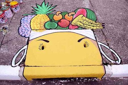 уличные рисунки в сан-паулу