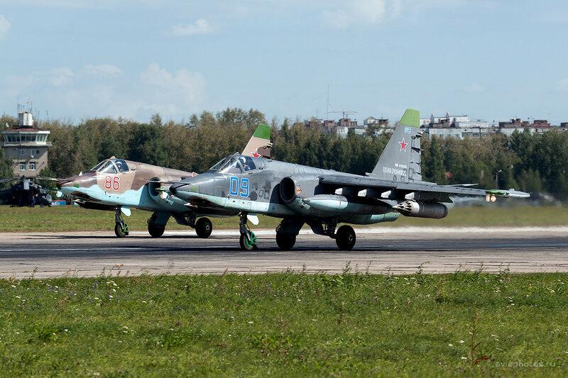 Сухой Су-25СМ (RF-91968 / 09 синий) D809888